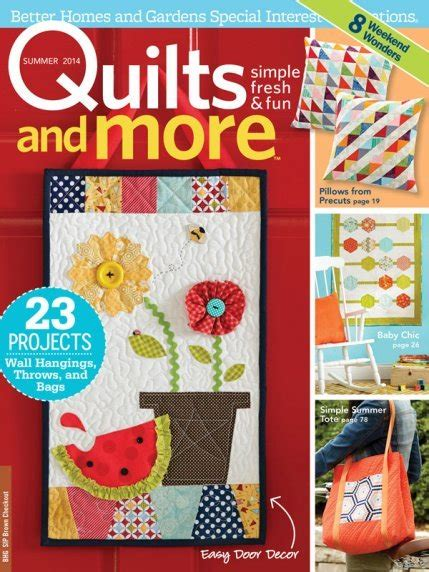 Better Homes And Gardens Quilt Magazine by Magazines Better Homes And Gardens