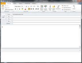 Template Email In Outlook 2010 Http Webdesign14 Com