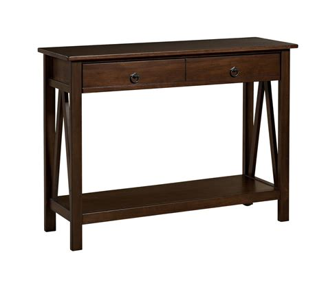 Antique Entryway Table Antique Entryway Brown Console 2 Drawer Table Furniture Decor Home Living Tables Tables