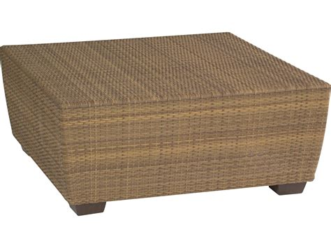 Square Wicker Coffee Table Whitecraft Saddleback Wicker Square 42 Coffee Table S523211