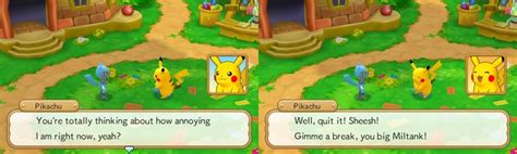 mystery dungeon gates to infinity pikachu invoking childhood innocence with mystery