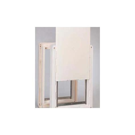 ruff weather door ideal ruff weather pet door large rwsl