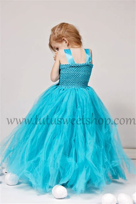 Elsa Handmade Costume - handmade elsa frozen inspired baby tutu dress