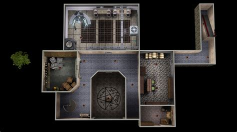 D D Floor Plans by Mod The Sims The Men Of Letters Bunker Supernatural