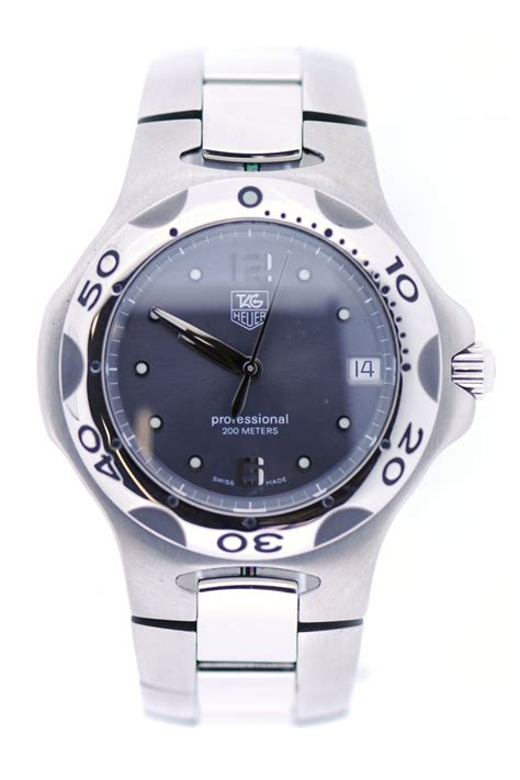 tag heuer used mens tag heuer professional wl111g