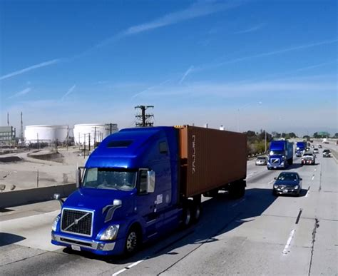 volvo trucks california volvo trucks successfully demonstrates on highway truck
