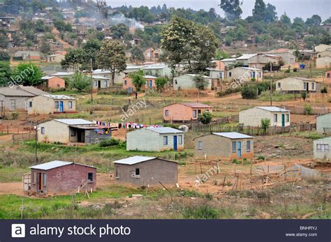 buy house in south africa township sabie south africa africa black africans houses settlement stock photo