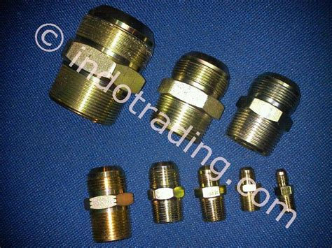 Pipa Ac 1 4 X 3 8 Sell Nepel Connector Npt X Jic From Indonesia By Pt