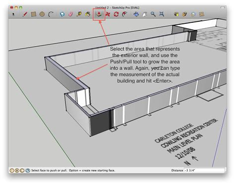 how to do a floor plan in sketchup how to build a building starting from a floor plan in