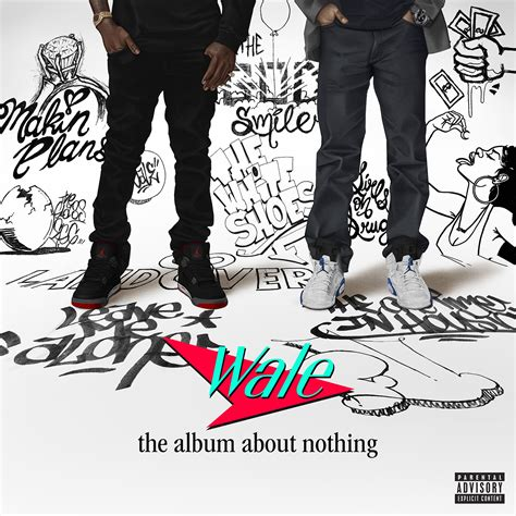 wale albums wale quot the album about nothing quot release date cover art