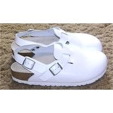 birkenstocks nursing white alpro clogs shoes 38 7