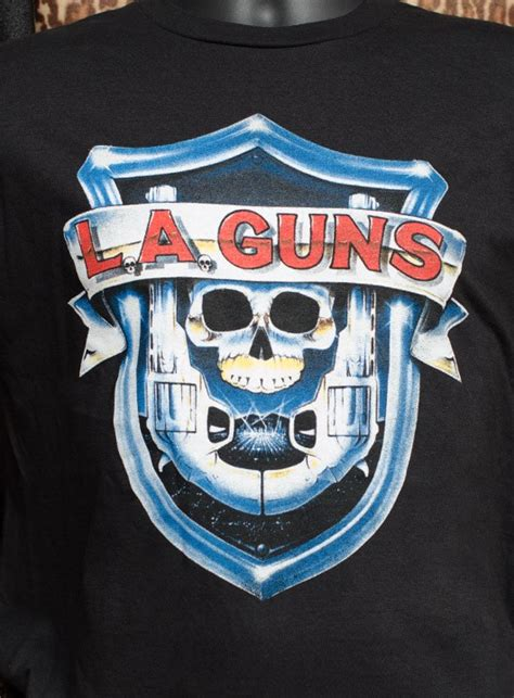 L A Guns l a guns riot on sunset shirt cleopatra records store