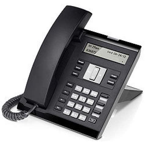 Desk Phone by Openscape Desk Phone Ip 35g Eco Icon Blk