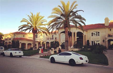 tygas house tyga 20 ridiculous rapper mansions complex