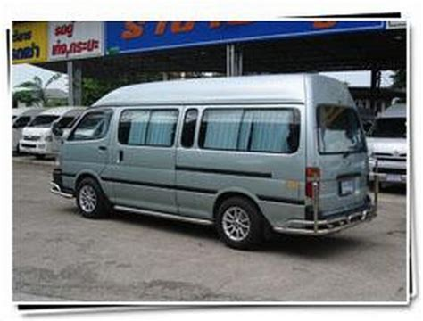 Toyota Hiace Usa Used Toyota Hiace Commuter Panel Vans Year 2004 Price