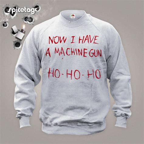 A Sweater Now now i a machine gun sweater jumper by spicetag