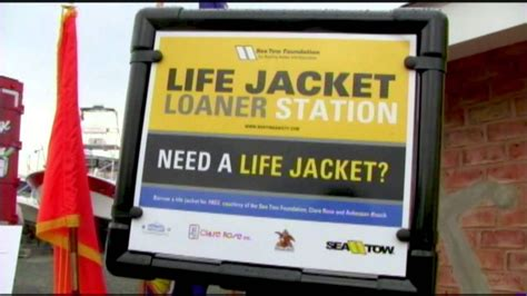 texas boating laws life jackets sea tow foundation s life jacket loaner station program
