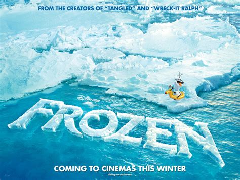 Frozen Film Uk | frozen uk teaser quad poster heyuguys