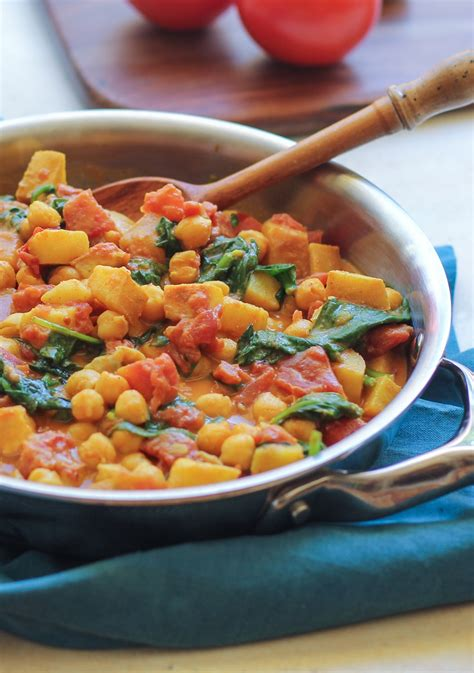 30 minute indian vegetarian recipes and easy chana saag the roasted root