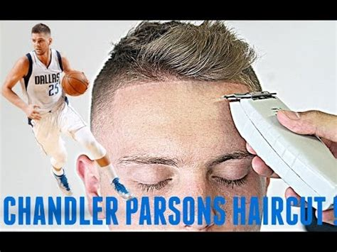 chandler parsons hairstyle barber tutorial chandler parsons haircut hd youtube