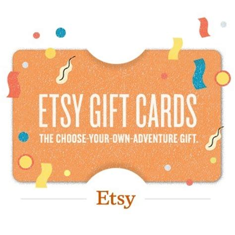 etsy gift card 25 value - Etsy Gift Card Code