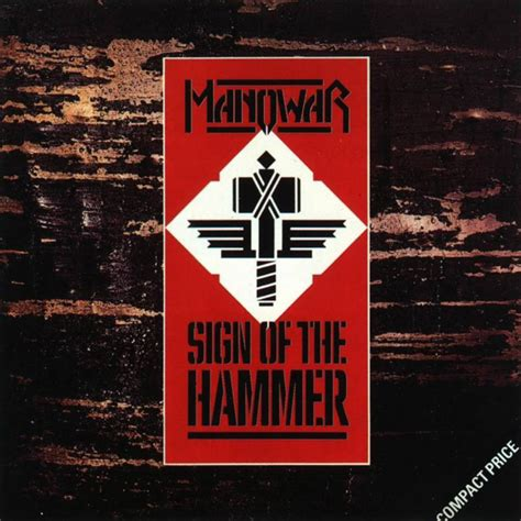 the sign of the car 225 tula frontal de manowar sign of the hammer portada
