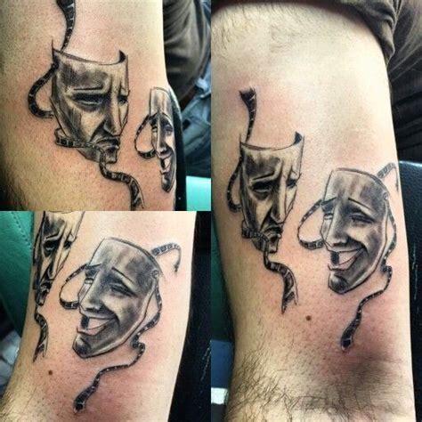 theater tattoos theater mask quot tattart quot mask