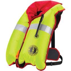 Mustang H I T Auto Inflatable Pfd by Deluxe 38 Automatic Inflatable Pfd