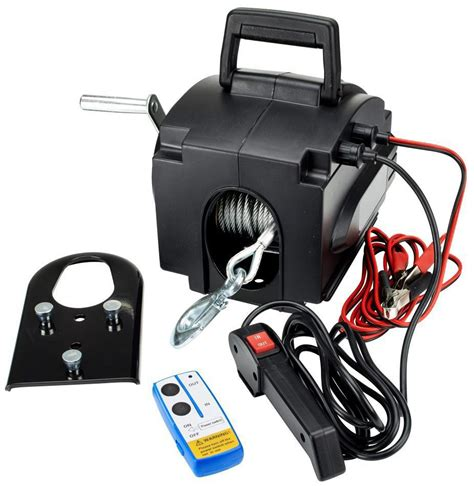 boat electric winch 12v best seller 12v portable electric winch 3500lbs china
