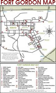 fort gordon map fort gordon family and mwr