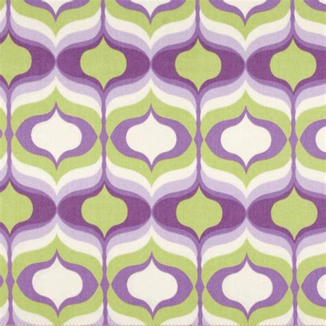 geometric drapery fabric hourglass violet purple geometric cotton drapery fabric by