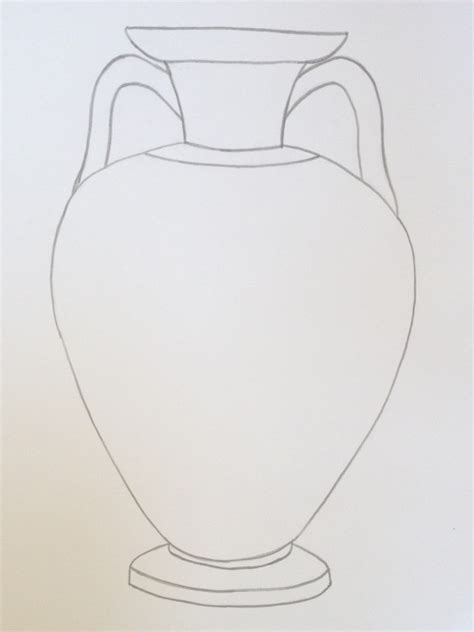 Vase Outline by How To Make Your Own Scratch Vase Digventures