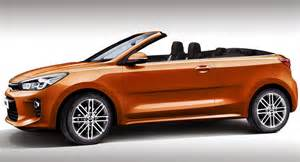 Kia Cabriolet 2017 Kia Gets Rendered Without Its Top