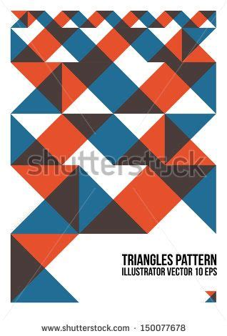 triangle pattern name 17 best images about branding mood board on pinterest