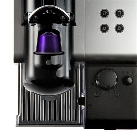 Nespresso Lattissima Plus Machine Black delonghi nespresso lattissima plus en520 w capsules machine white around the clock offers