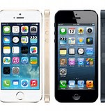 Image result for iPhone 5 vs 5s Size