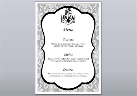 Free Wedding Table Planner Template