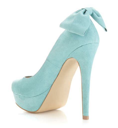high heels with bows on the back miss selfridge sindy bow back platform heels gt shoeperwoman