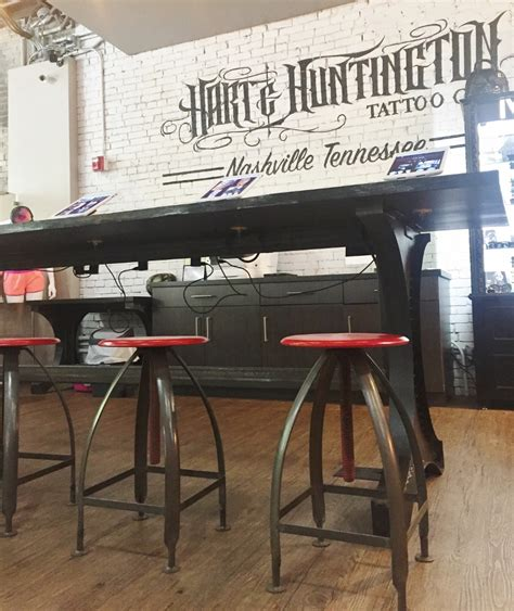 industrial tattoo vandalized owner says shop offers mashup of modern industrial rustic