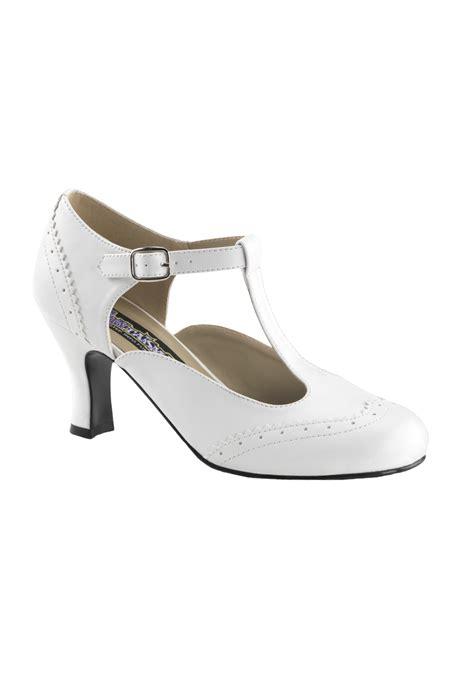 flapper shoes white flapper shoes