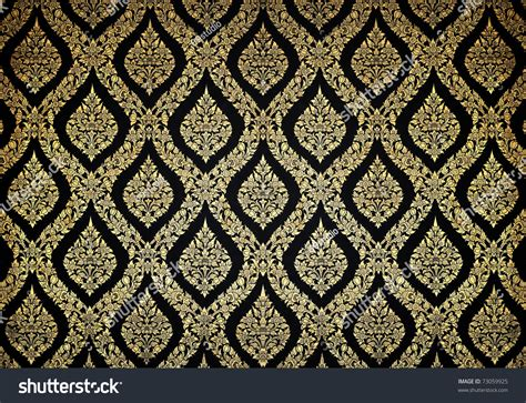 thai design thai floral pattern design on wall stock photo 73059925 shutterstock
