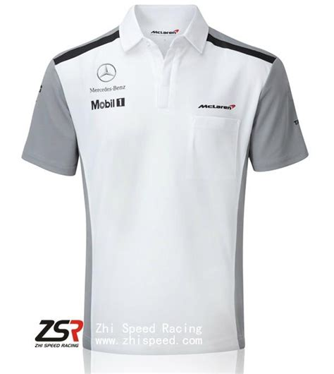 Kaos Motor Athlete 2014 f1 mclaren team shirt jenson button kevin magnussen