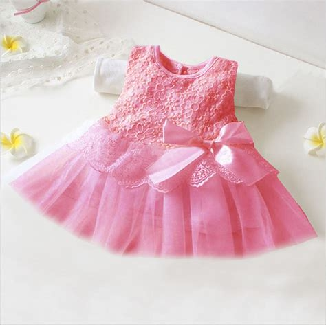 newborn baby tutu dress birthday skirt clothes