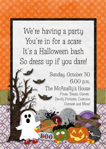 invitation ideas for halloween party slightly askew designs halloween party
