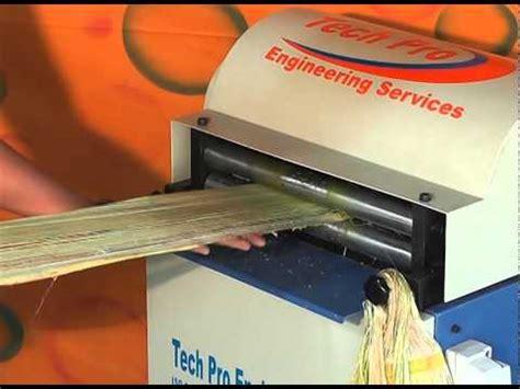 Banana Fiber Paper Machine - banana fiber machine by tech pro engineering services ३