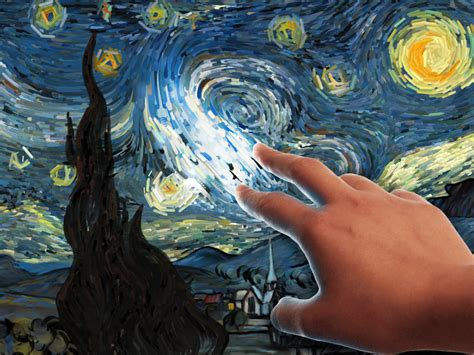 9 geeky variations of a starry night by van gogh epic starry night interactive android apps on google play