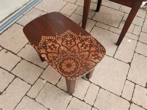 stencil nesting tables   passion mandala