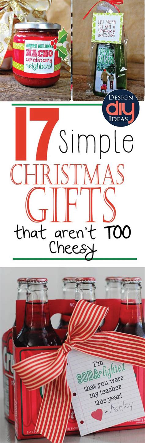 17 simple christmas gifts that aren t too cheesy design