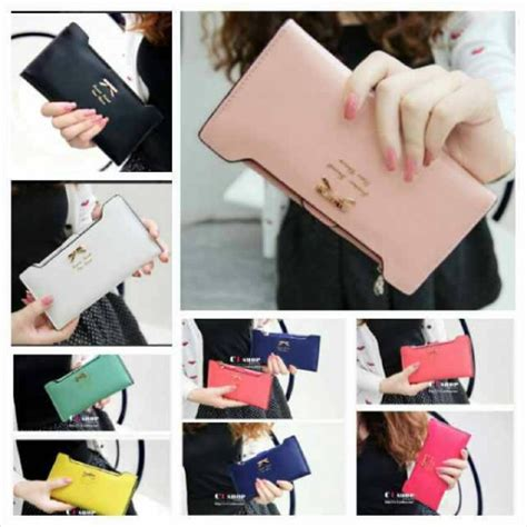 Dompet Import Korean 1 dompet wanita import korea murah ribbon wallet ryn fashion