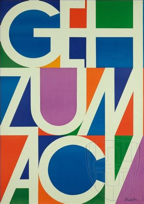 1960 s graphic design donald brun geh zum acv 1960 design typography donald o connor